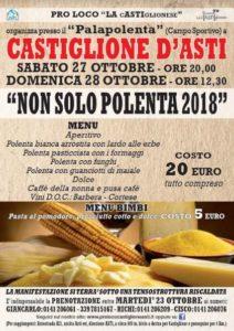 """Locandina  """"Non solo polenta"""""""
